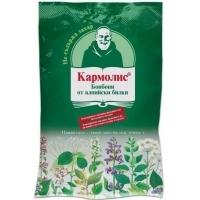 КАРМОЛИС БОНБОНИ Алпийски билки без захар 72 гр. 4,96 лв. от Vitania.bg