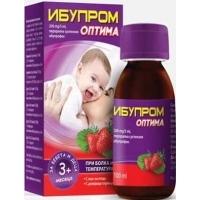 ИБУПРОМ ОПТИМА сусп. 100 мл   8,40 лв. от Vitania.bg