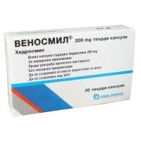 ВЕНОСМИЛ КАПС. 200МГ Х 60 23,90 лв. от Vitania.bg