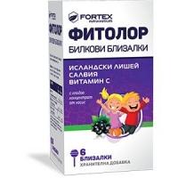 ФИТОЛОР Билкови близалки x 6 ФОРТЕКС 5,50 лв. от Vitania.bg