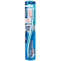 АКВАФРЕШ Четка за зъби Трипъл протекшън медиум 1+1 4,66 лв. от Vitania.bg