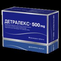 ДЕТРАЛЕКС 500 мг. филмирани таблети x 90 46,30 лв. от Vitania.bg