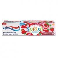 АКВАФРЕШ Паста за зъби Детска сплащ ягода 3-5 год. 50мл. 4,80 лв. от Vitania.bg