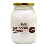 Кокосово масло студено пресовано сурово 1000 мл. Dragon Superfoods 18,50 лв. от Vitania.bg
