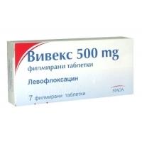ВИВЕКС тбл.500мг.х7 11,02 лв. от Vitania.bg