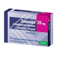 ЕМАНЕРА КАПС. 20 мг.х 14 5,56 лв. от Vitania.bg