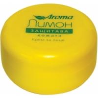 АРОМА Крем за лице защитаващ с лимон 75 мл. 2,90 лв. от Vitania.bg
