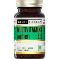 ЛАЙФ ФОРМУЛА Мултивитамини за жени таблети x 60 20,90 лв. от Vitania.bg