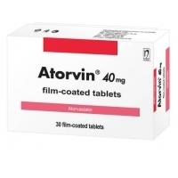 АТОРВИН табл. 40 мг.х 30 9,70 лв. от Vitania.bg