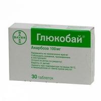 ГЛЮКОБАЙ ТАБЛ. 100 мг.х 30  8,05 лв. от Vitania.bg