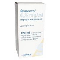 ЙОВЕСТО СОЛ. 0.5 мг/мл.120 мл. 5,80 лв. от Vitania.bg