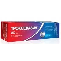 ТРОКСЕВАЗИН ГЕЛ 2% 100 гр. 11,22 лв. от Vitania.bg