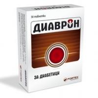 ДИАВРОН таблетки х 30 ФОРТЕКС 21,50 лв. от Vitania.bg