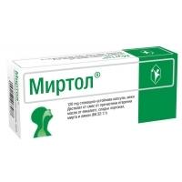 МИРТОЛ капс. 120 мг. х 20 7,90 лв. от Vitania.bg