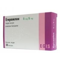 ЕГИРАМЛОН КАПС. 5/5 мг.х 30 8,60 лв. от Vitania.bg