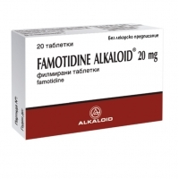 АЛКАЛОИД ФАМОТИДИН АЛКАЛОИД табл. 20 мг. х 20 1,70 лв. от Vitania.bg